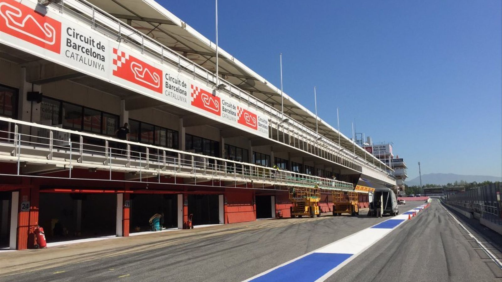 Imatge del Circuit de Barcelona-Catalunya