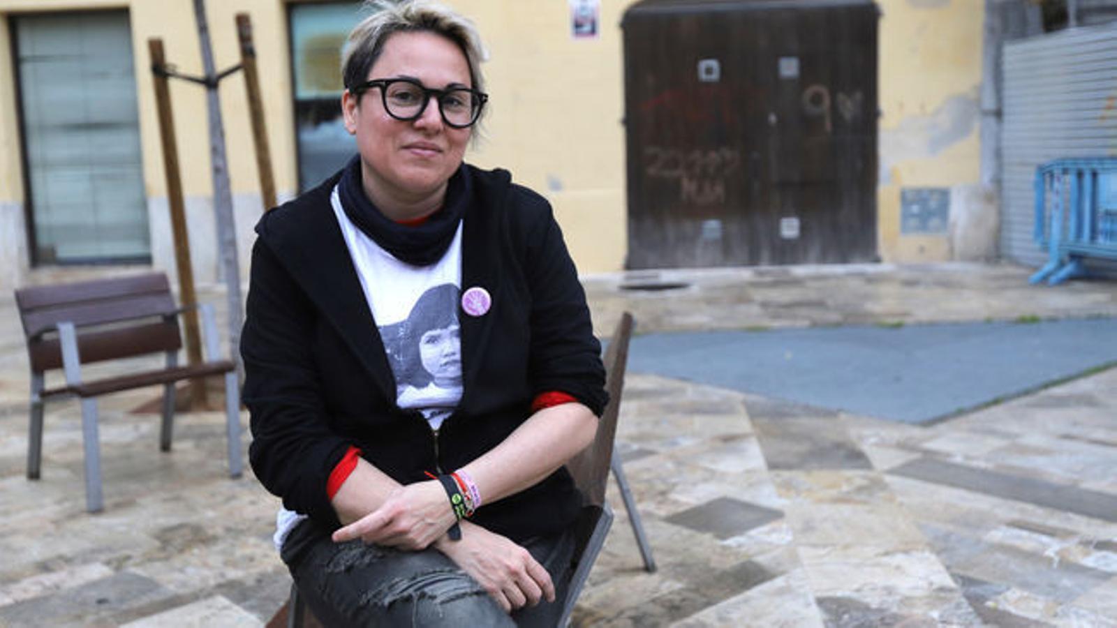 Imatge d'una entrevista a Sonia Vivas.