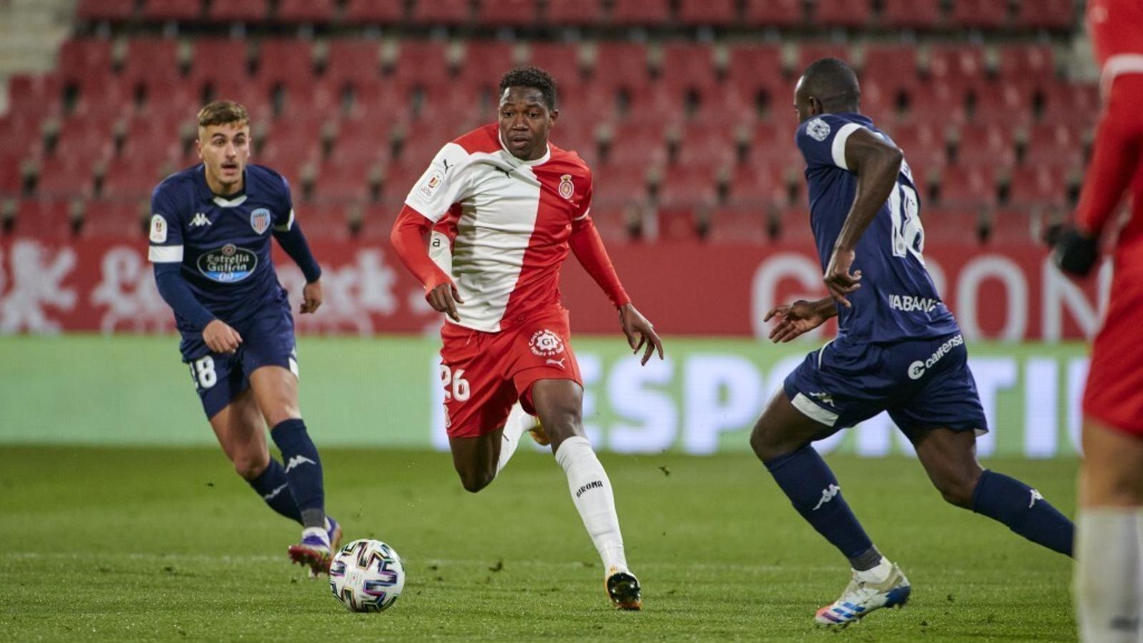 Ibrahima Kebe, jugador del Girona