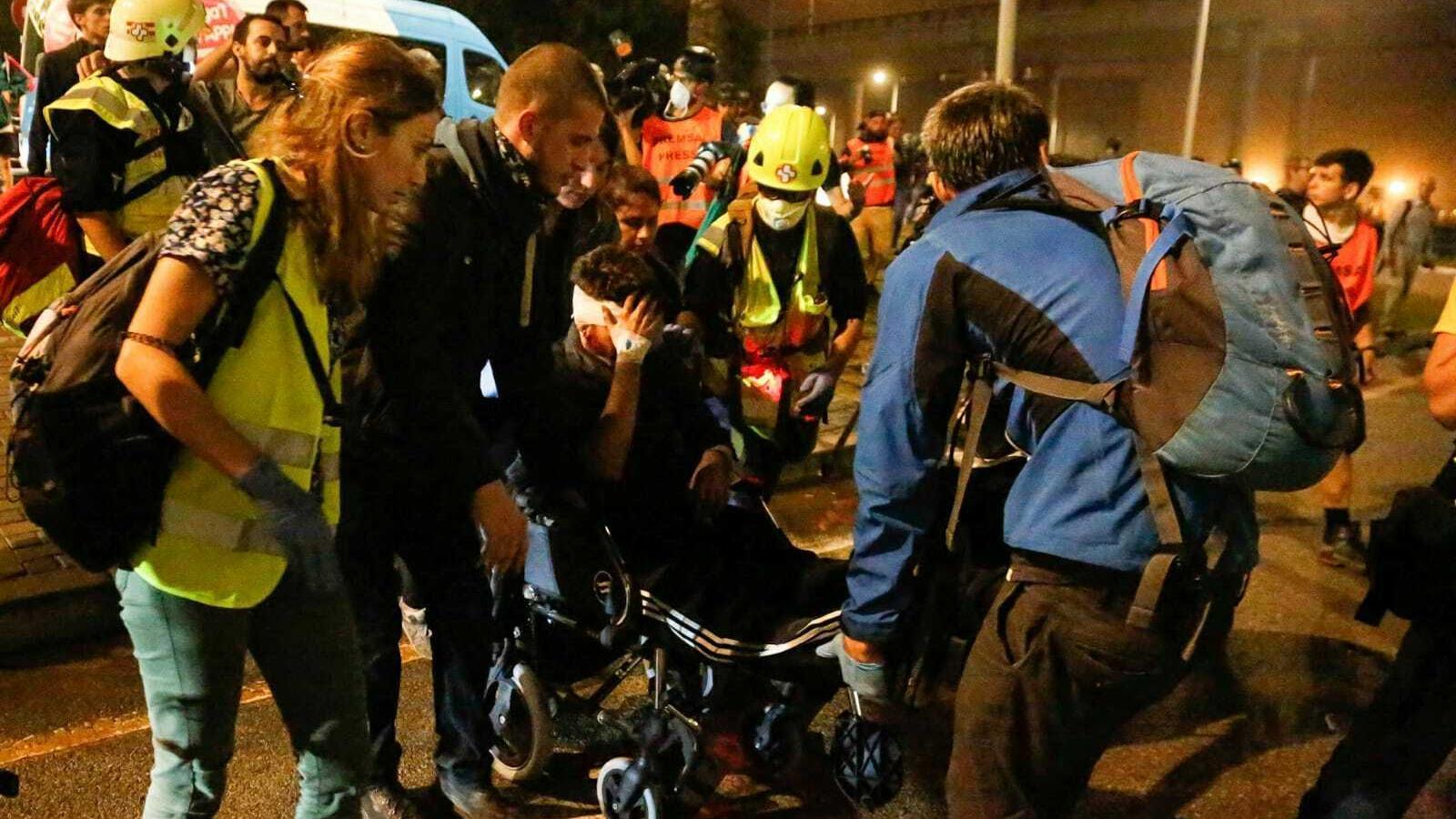 L'ARA té accés a les imatges de l'actuació policial en què un jove va resultar ferit a l'ull