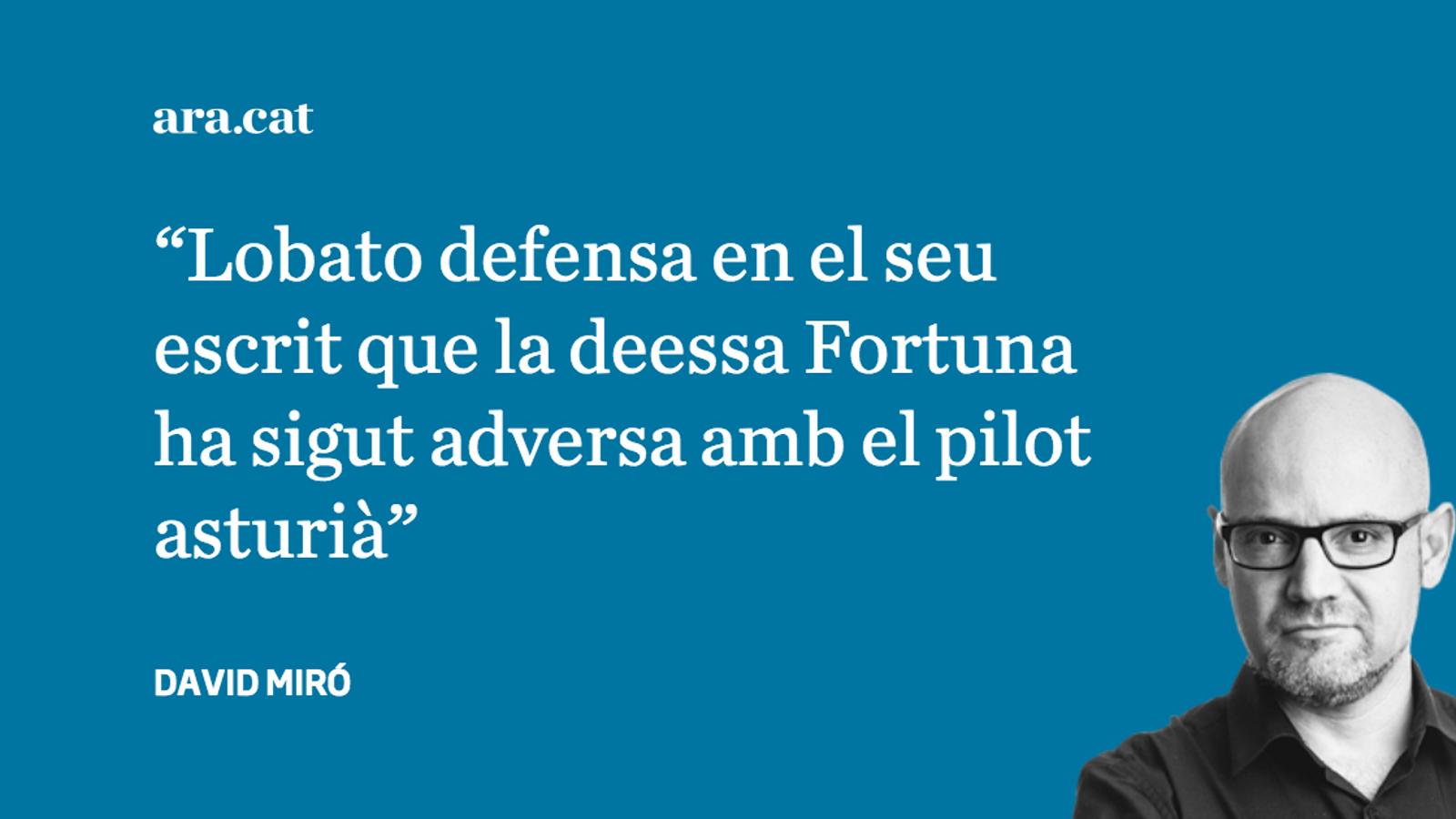 Les llàgrimes d'Antonio Lobato per Fernando Alonso