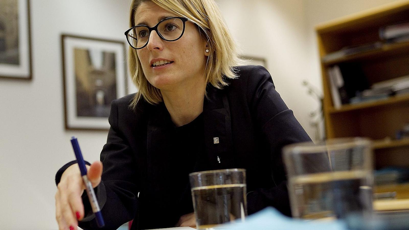 """Elsa Artadi: """"Igualant els impostos amb Madrid perdríem 1.500 milions a què no podem renunciar"""""""