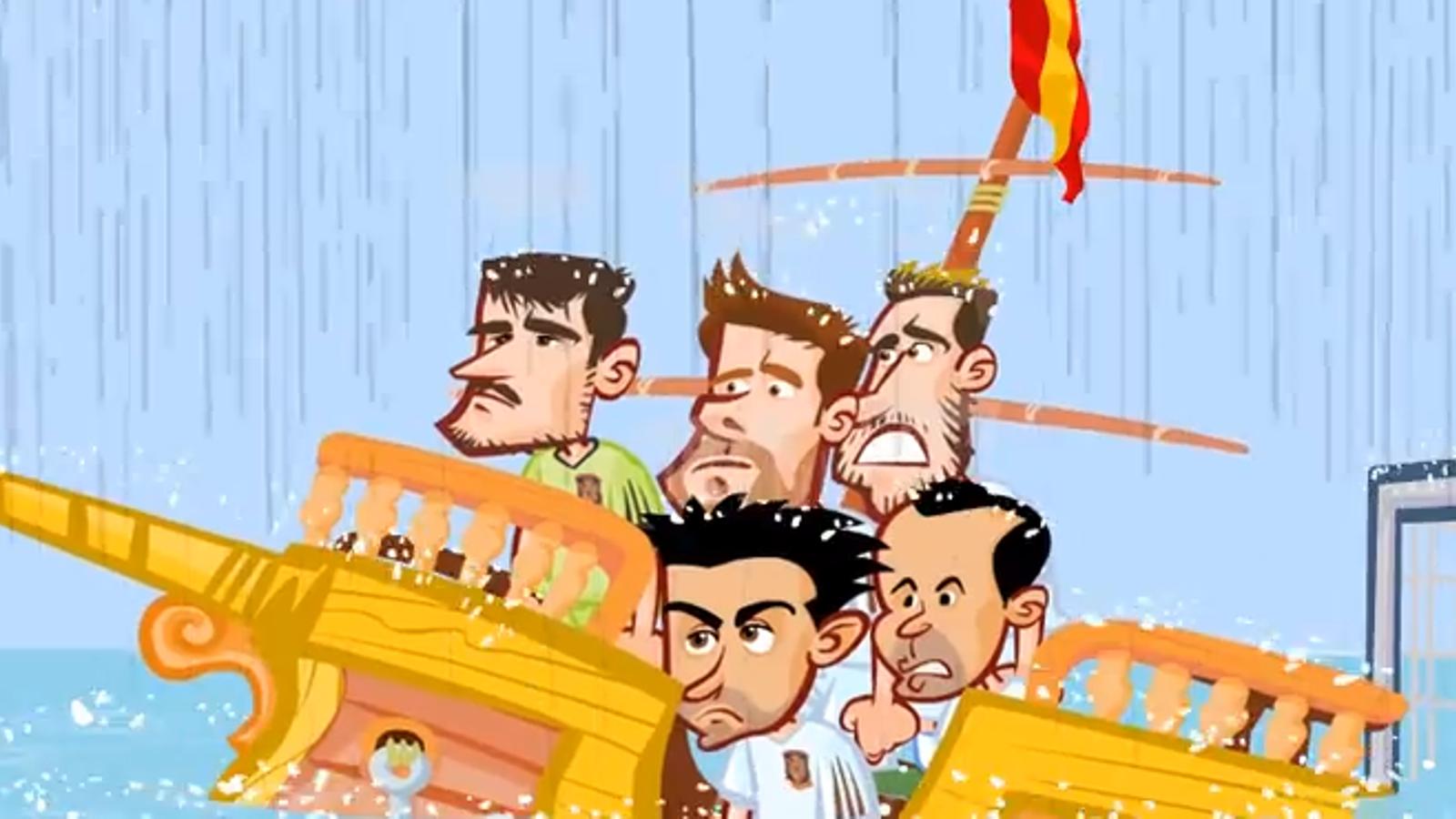 El resum del Mundial, en dibuixos animats