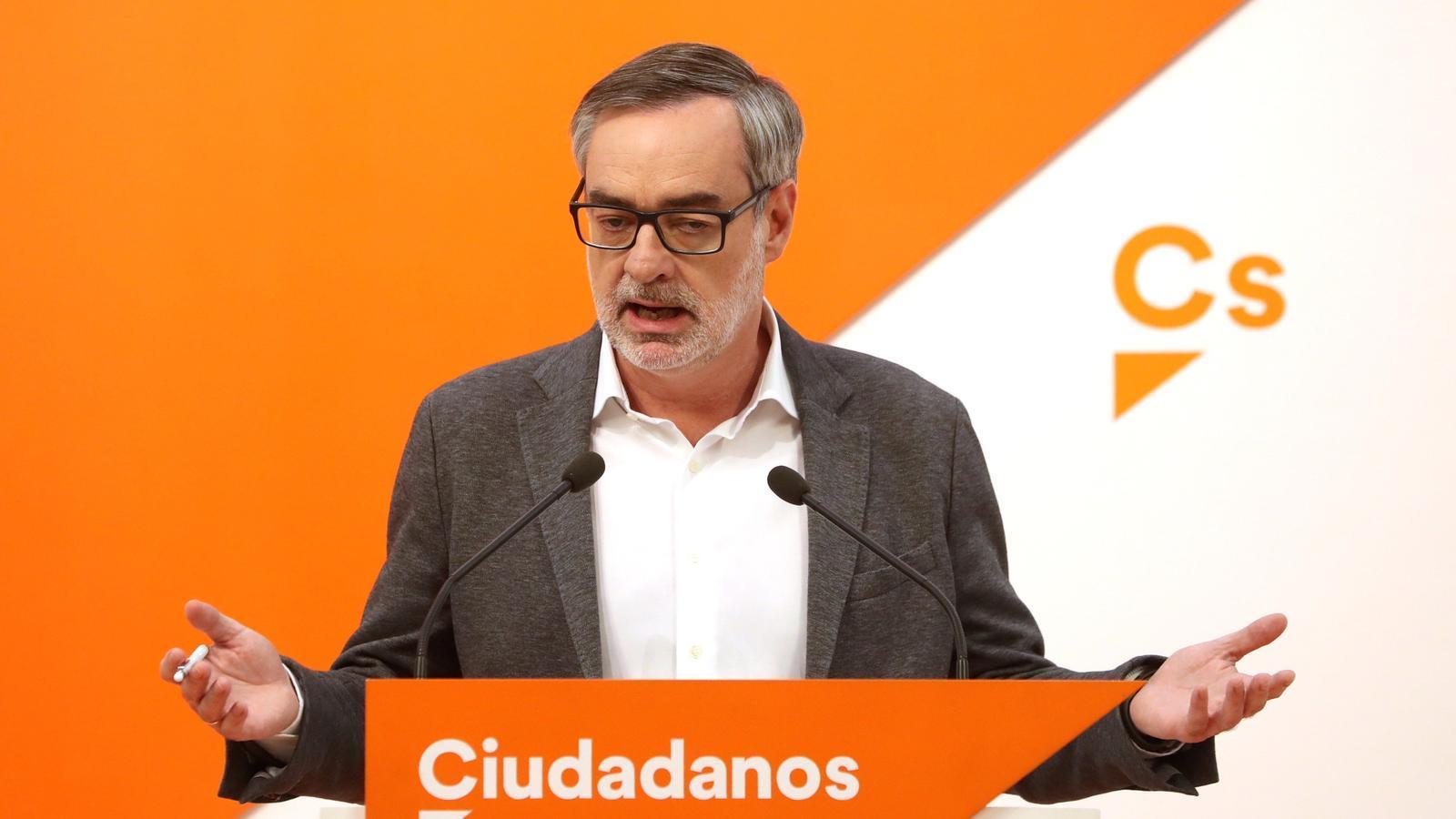 José Manuel Villegas, secretari general de Ciutadans.