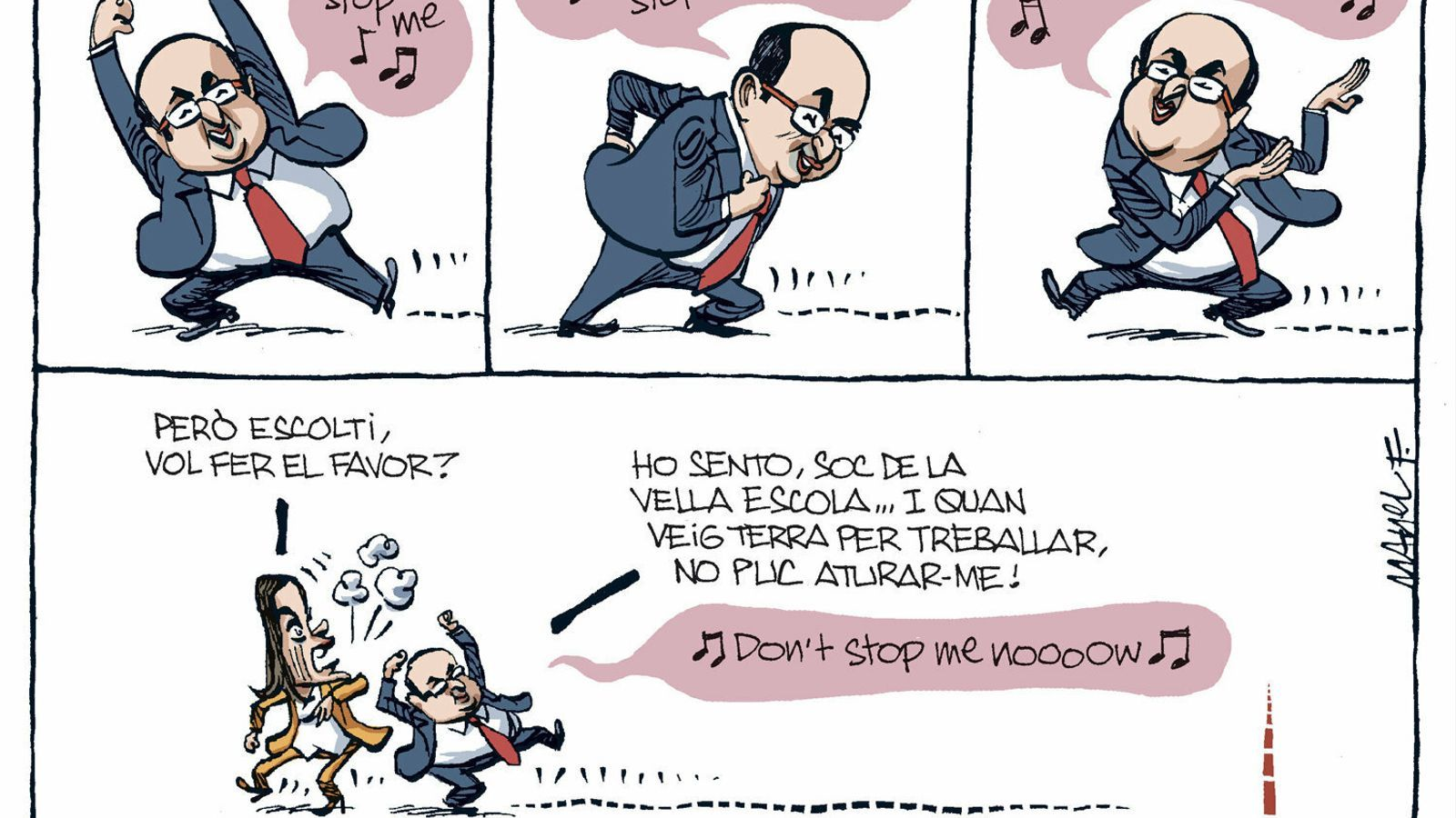 La vinyeta de Manel Fontdevila 24/11/2019