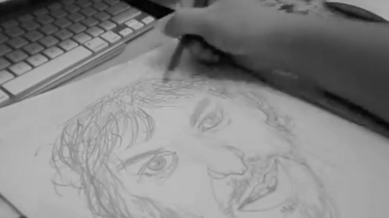 Com dibuixar Pau Gasol en 200 segons