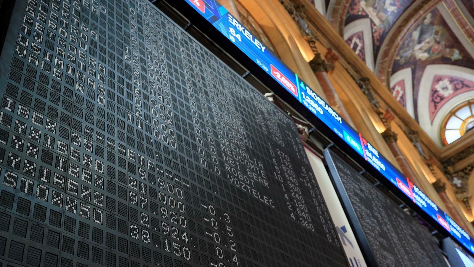 Borsa a Madrid