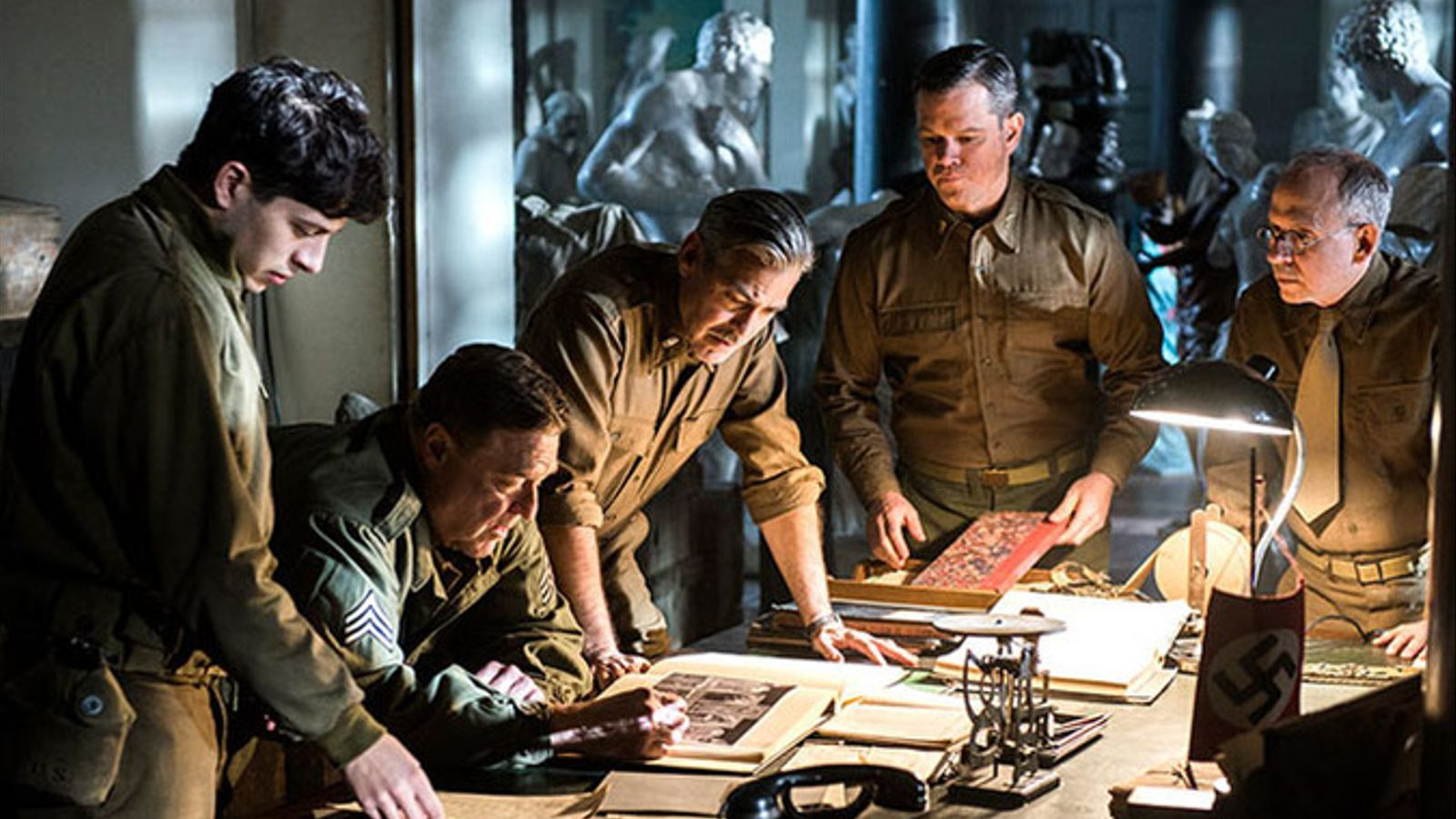 Tràiler de 'The monuments men', de George Clooney