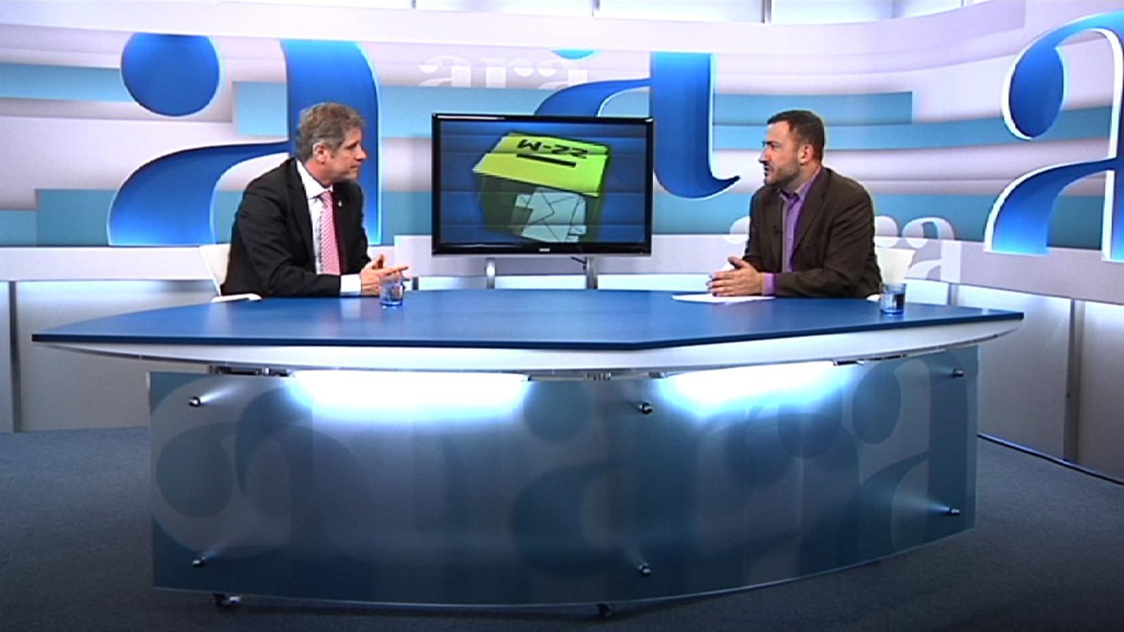 Toni Soler entrevista Alberto Fernández Díaz