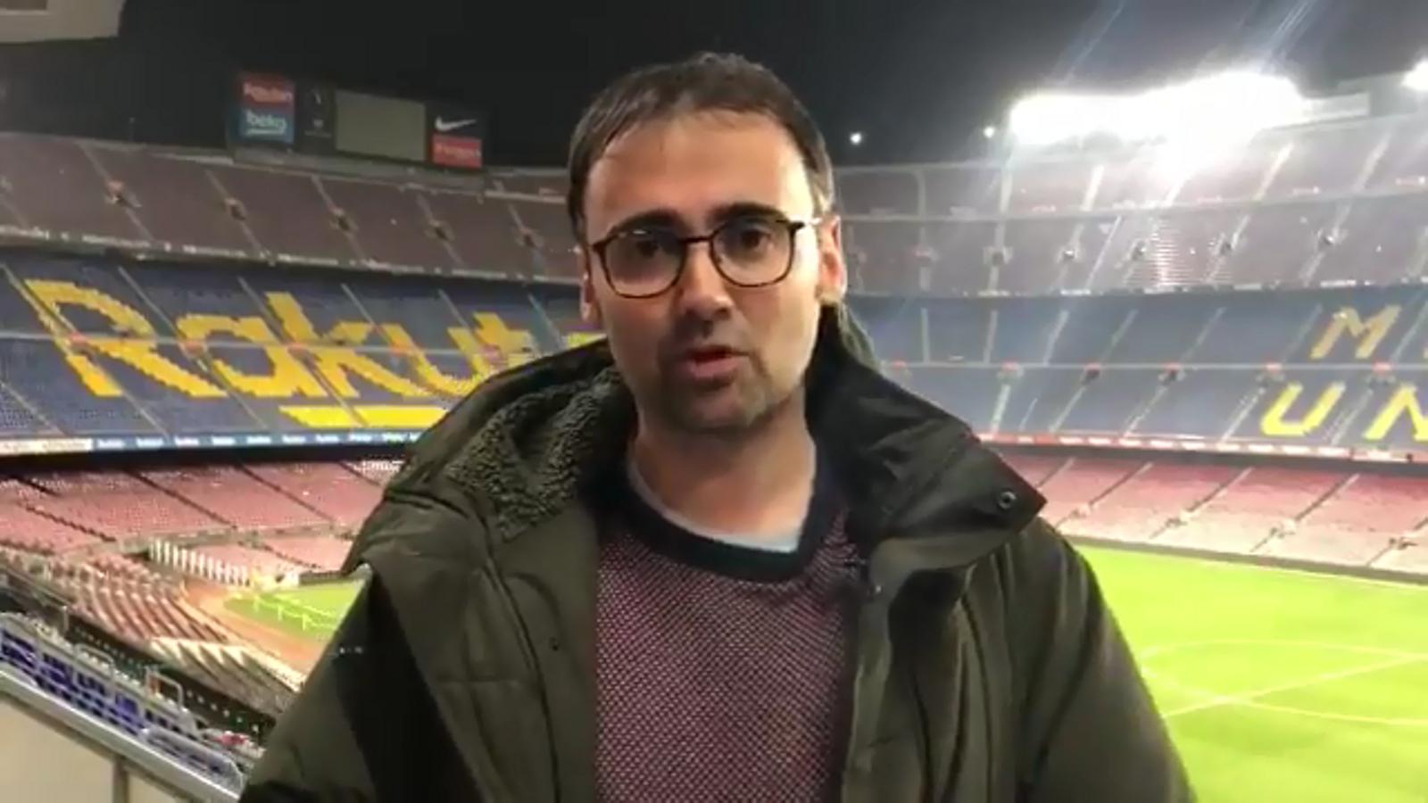 L'anàlisi del Barça-Madrid de Toni Padilla