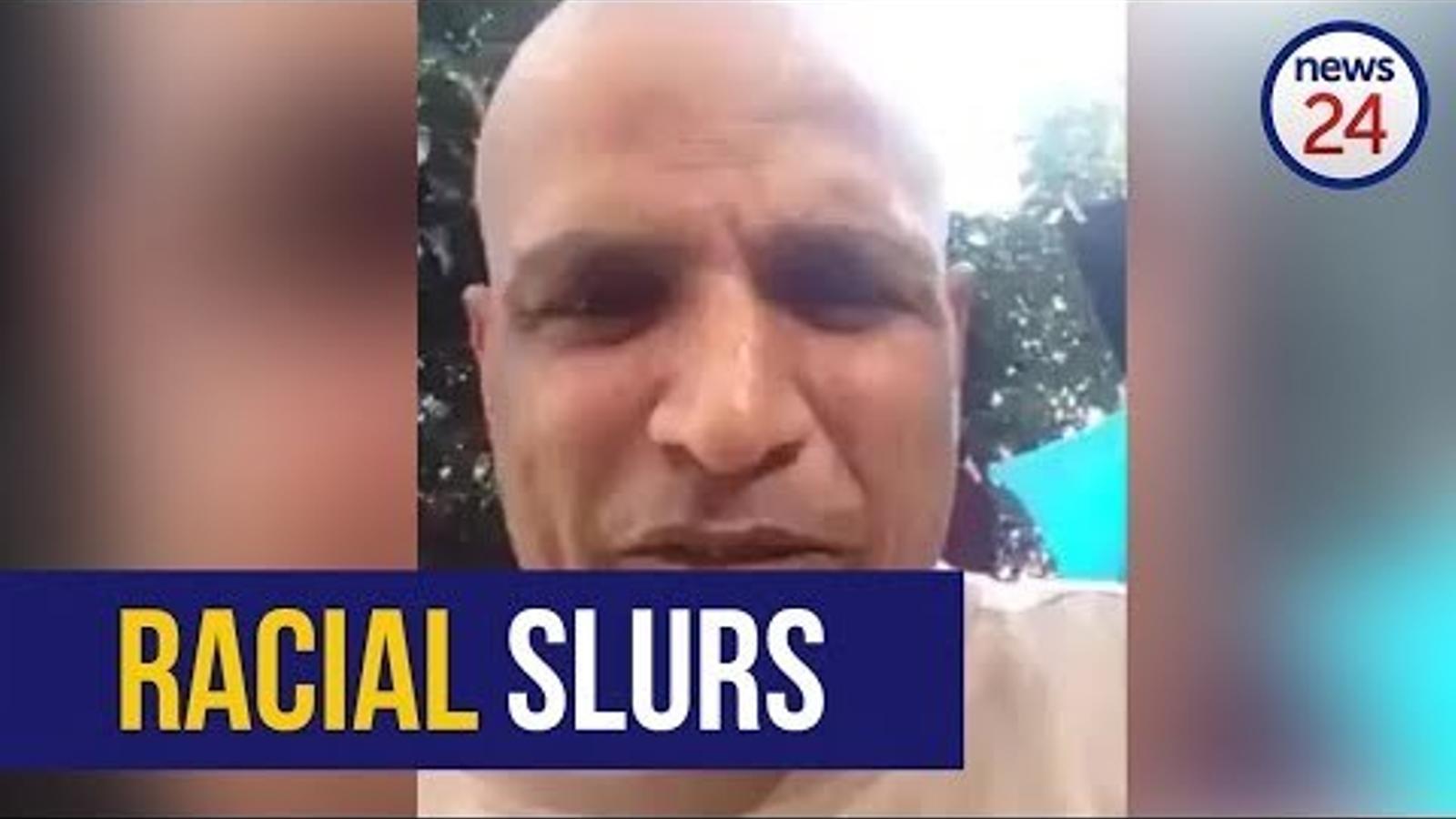 Vídeo d'un sud-africà insultant amb un mot racista el president
