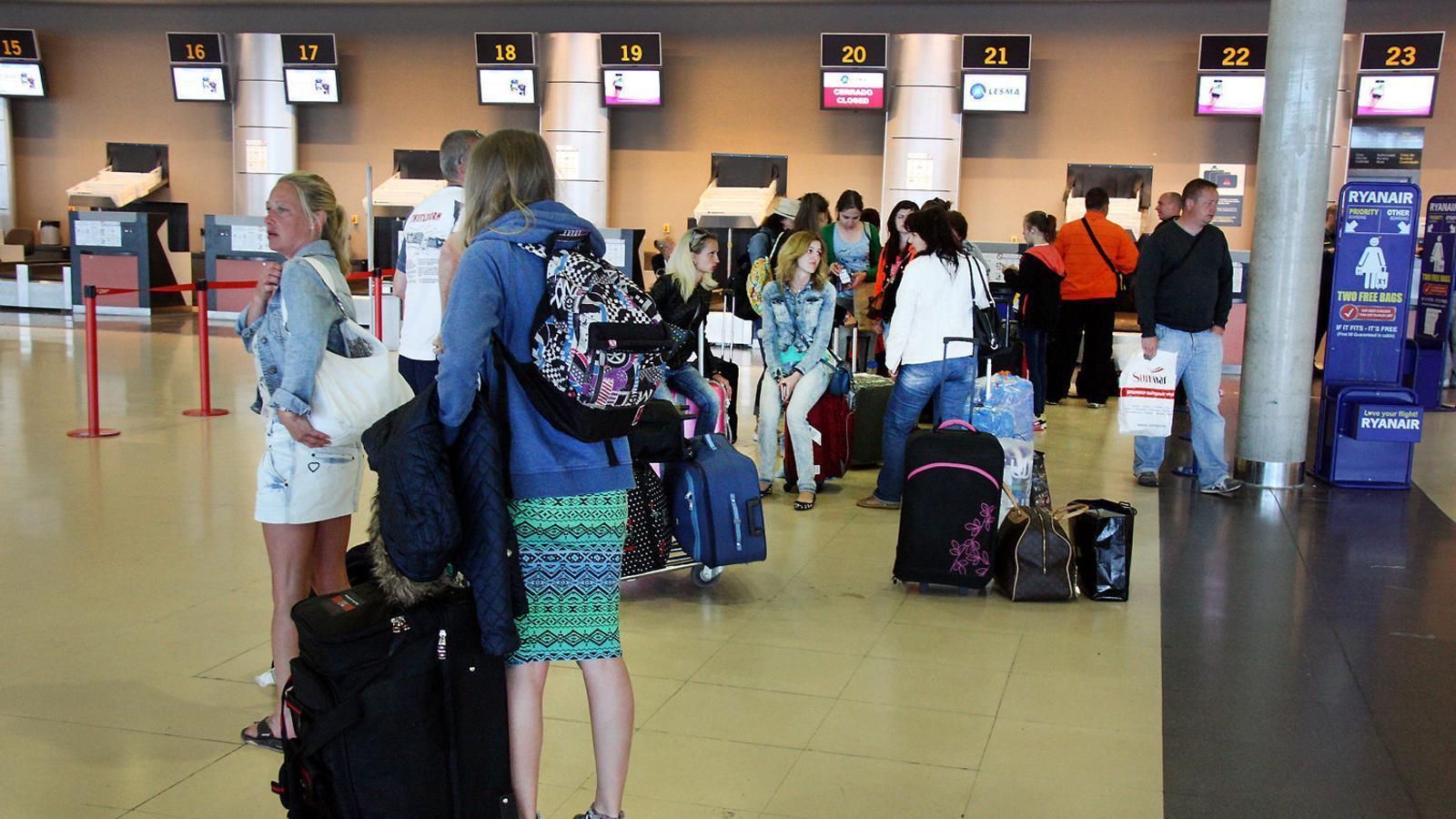 L'aeroport de Reus recupera un 30% dels passatgers