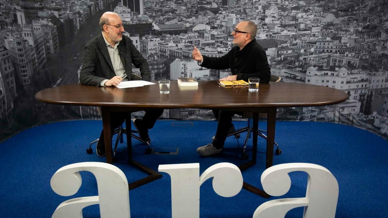 Entrevista d'Antoni Bassas a Joan Carles Mèlich