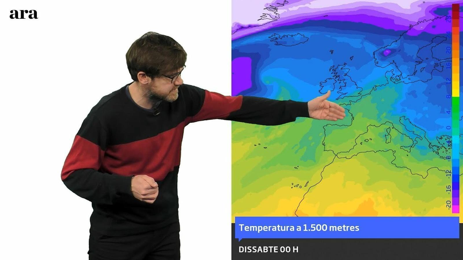 La méteo: cap de setmana poc hivernal a l'espera d'una entrada d'aire fred