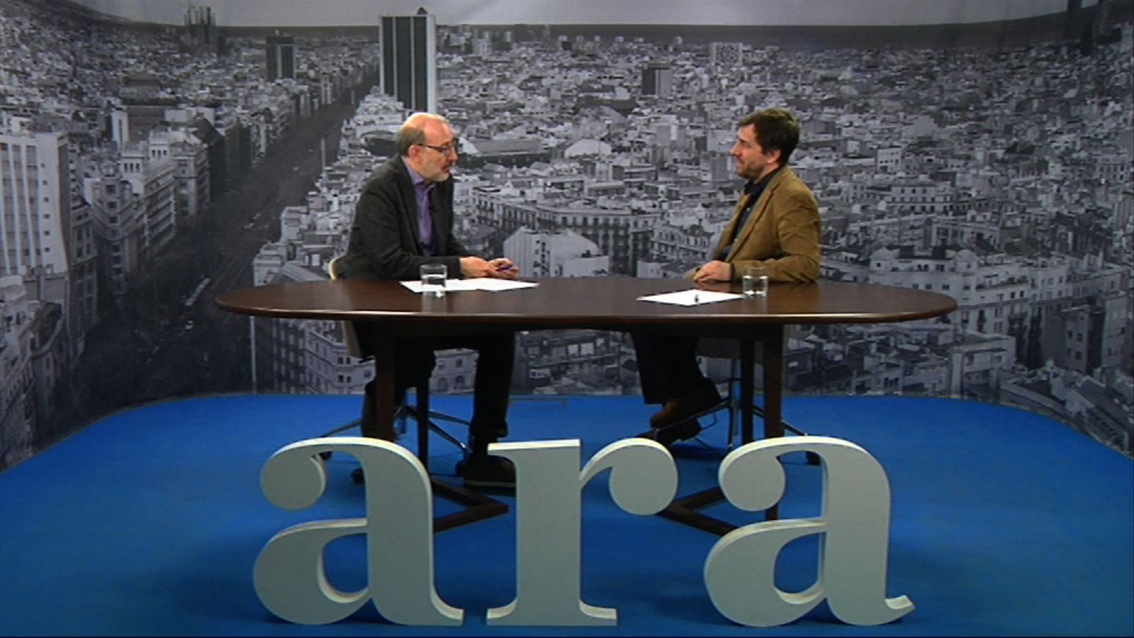 Entrevista d'Antoni Bassas a Toni Comín