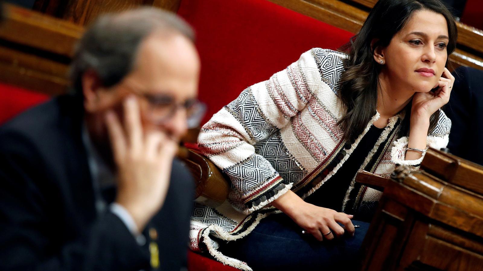 """Torra: """"Retirem qualsevol mena de suport al govern espanyol"""""""