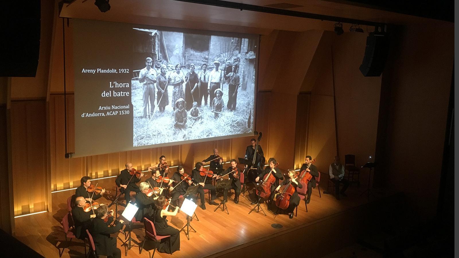 El concert que l'ONCA va oferir a Barcelona. / FUNDACIÓ ONCA