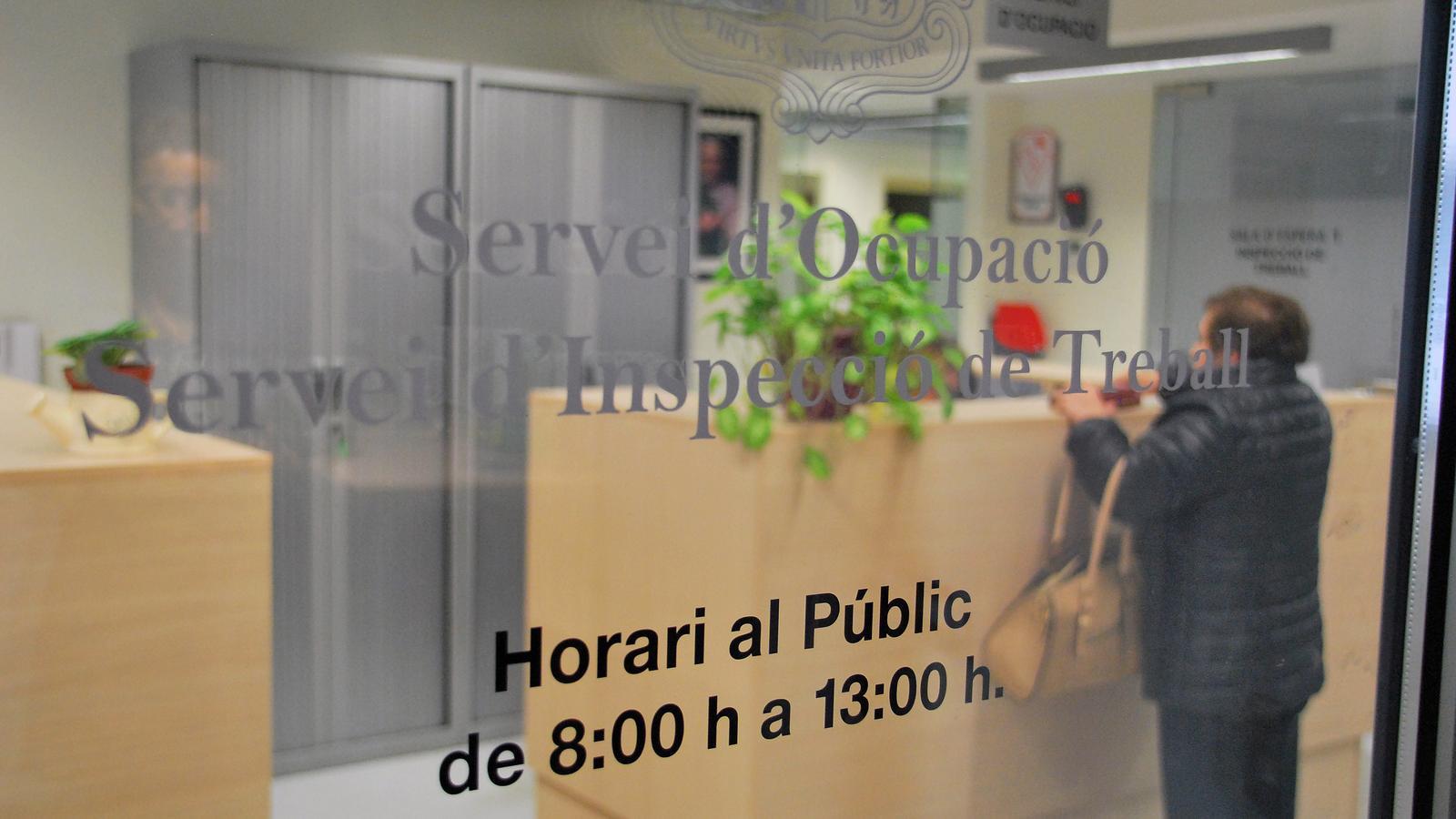 Una imatge del Servei d'Ocupació. / C. G. (ANA)