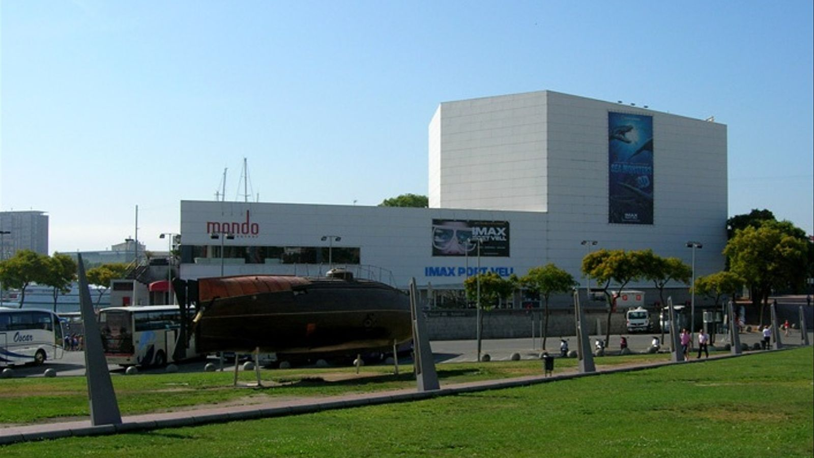 El cinema IMAX Port Vell