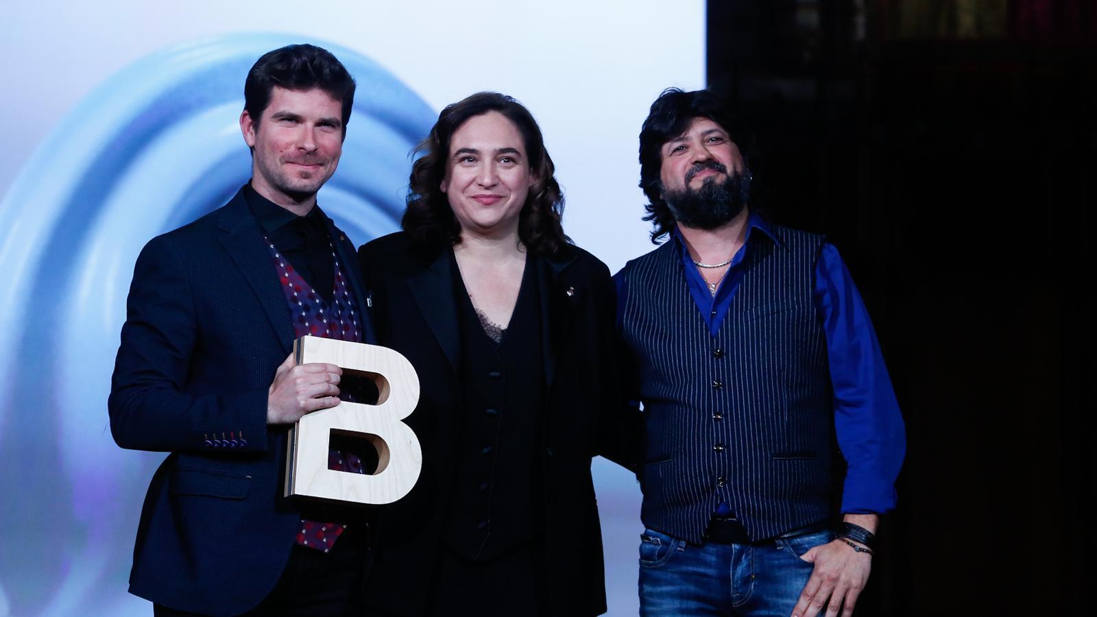 Marco Mezquida, Ada Colau i Chicuelo als Premis Ciutat de Barcelona