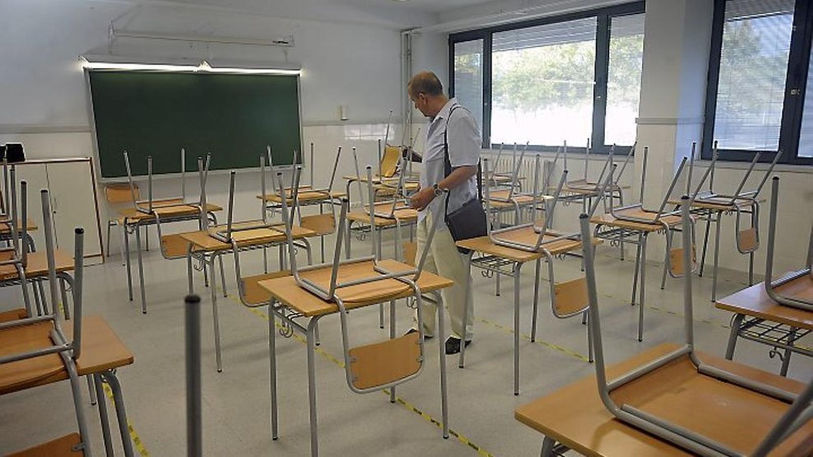 La Conselleria d'Educació ha fet arribar el Protocol de desescalada a diferents col·lectius de la comunitat educativa