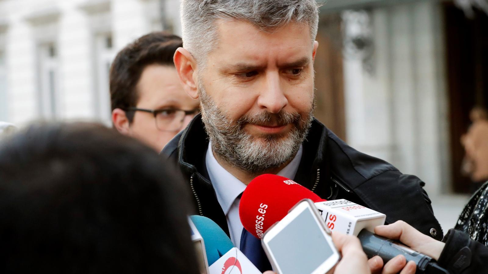 """Van den Eynde assegura que Romeva """"no té gaires incentius"""" per respondre a l'Advocacia i la Fiscalia"""