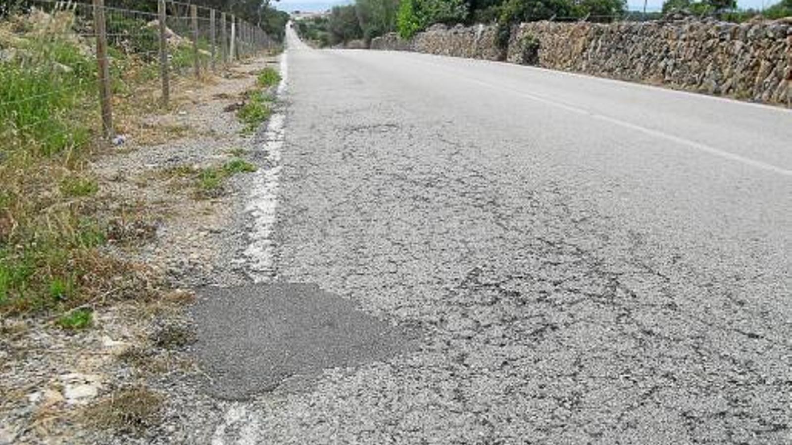 El Consell ampliarà la carretera que connecta Llucmajor amb s'Estanyol
