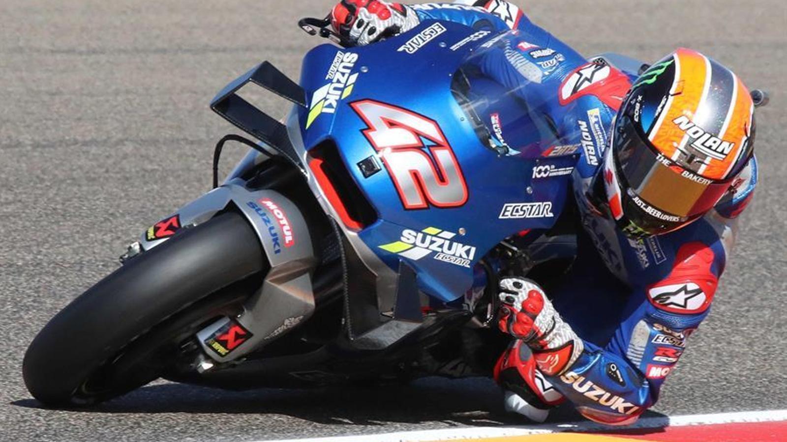 Álex Rins ha guanyat la cursa de MotoGP a l'Aragó