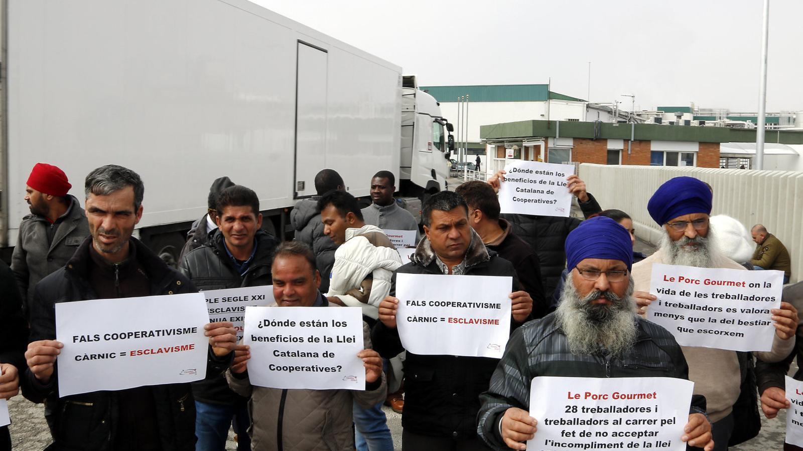 L'acord per regularitzar els treballadors de Grupo Jorge divideix els sindicats