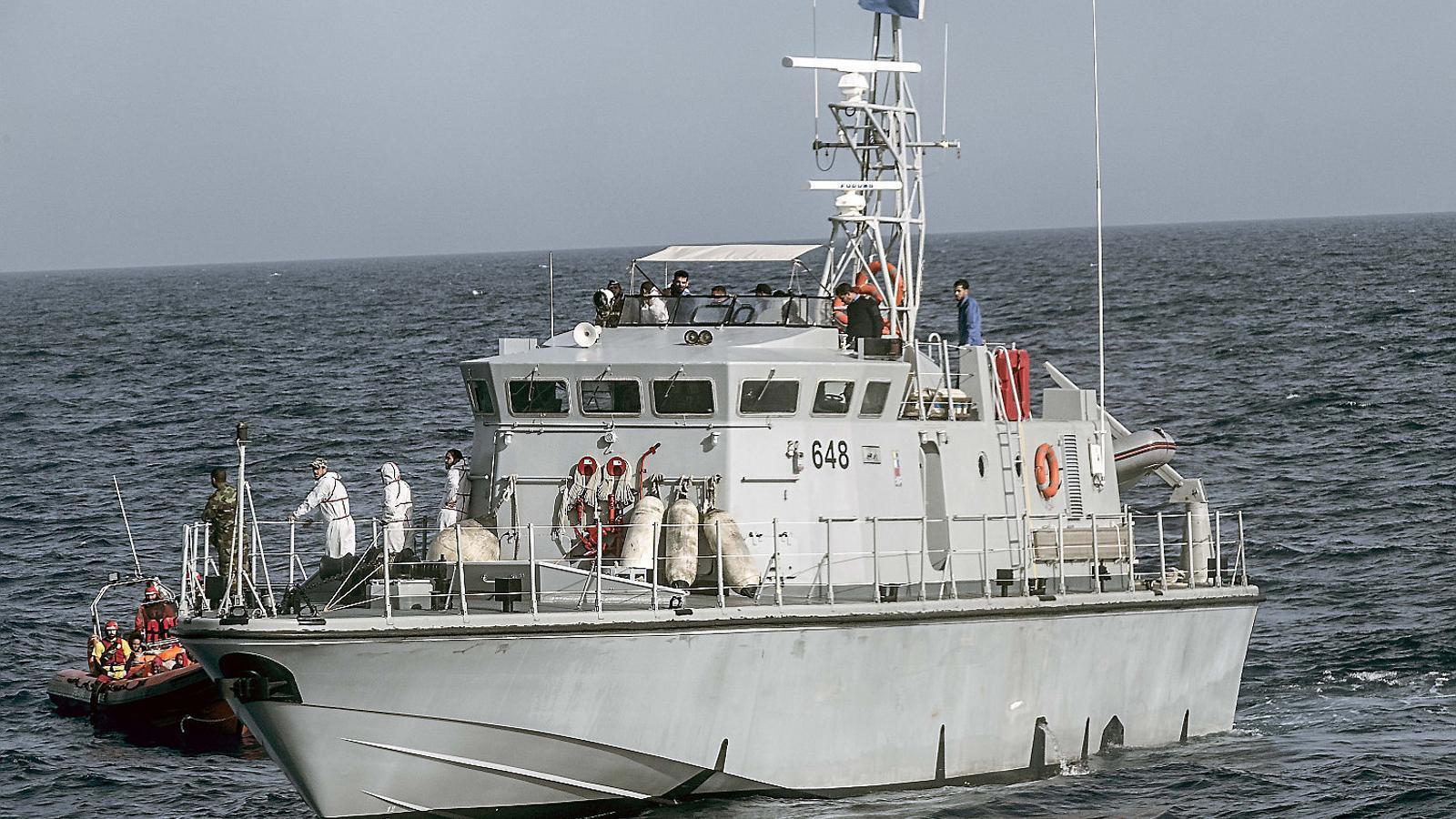 Crònica dels dos rescats i l'incident amb els guardacostes libis