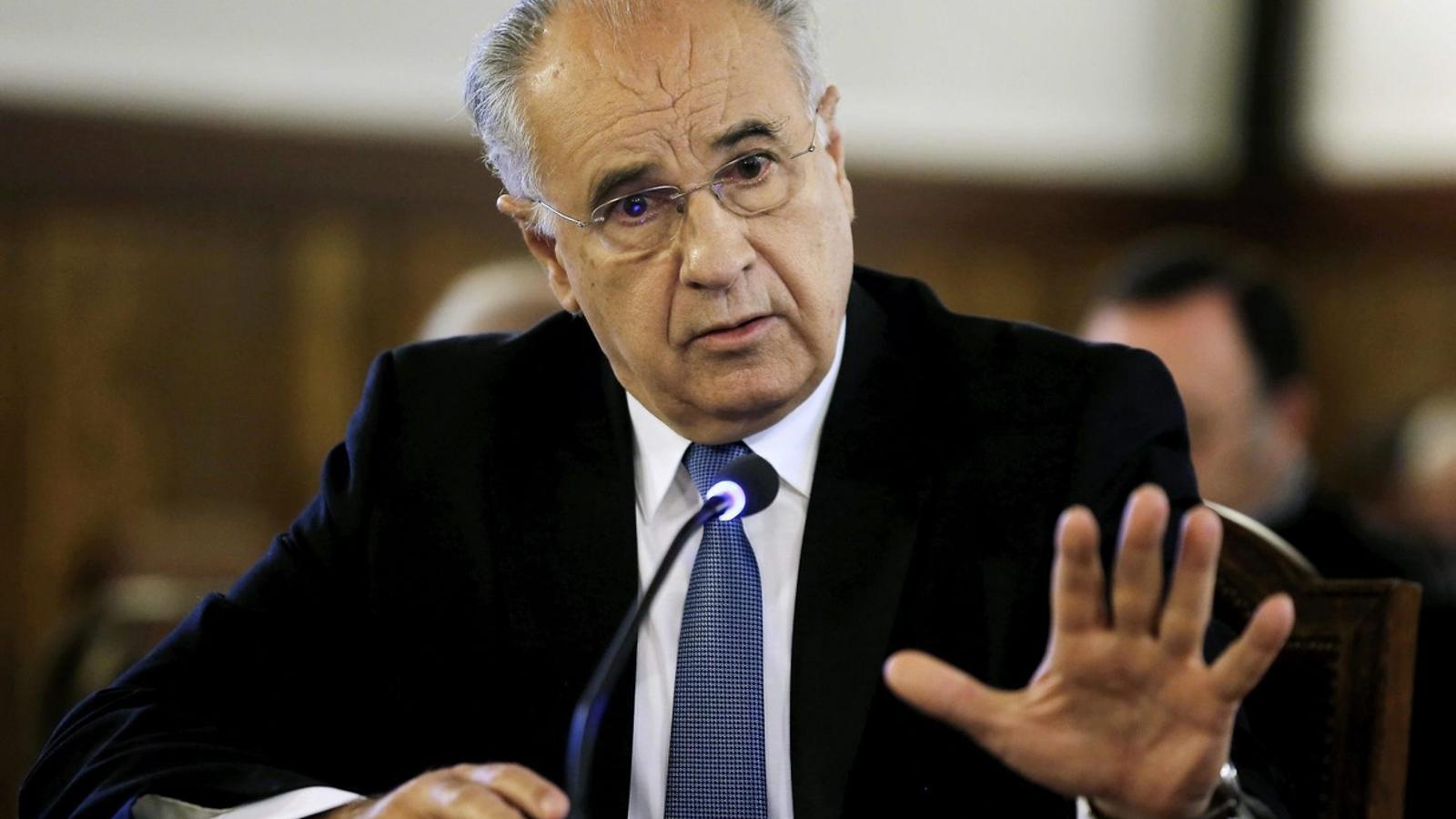 L'exconseller valencià Rafael Blasco obté el tercer grau penitenciari