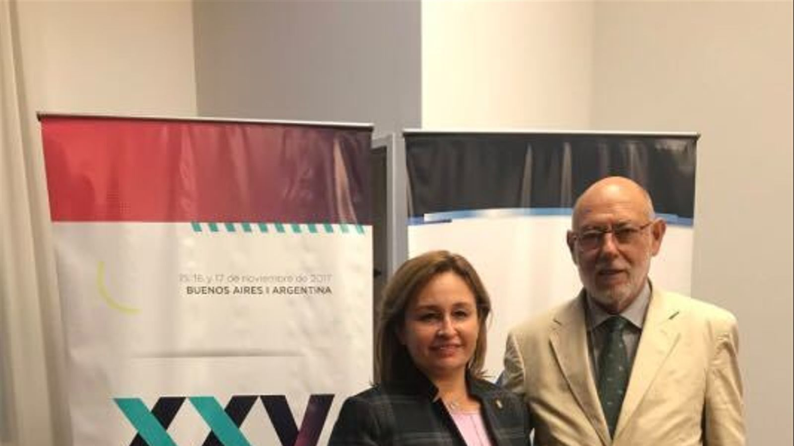 José Manuel Maza, fiscal general de l'Estat, aquesta setmana a Buenos Aires