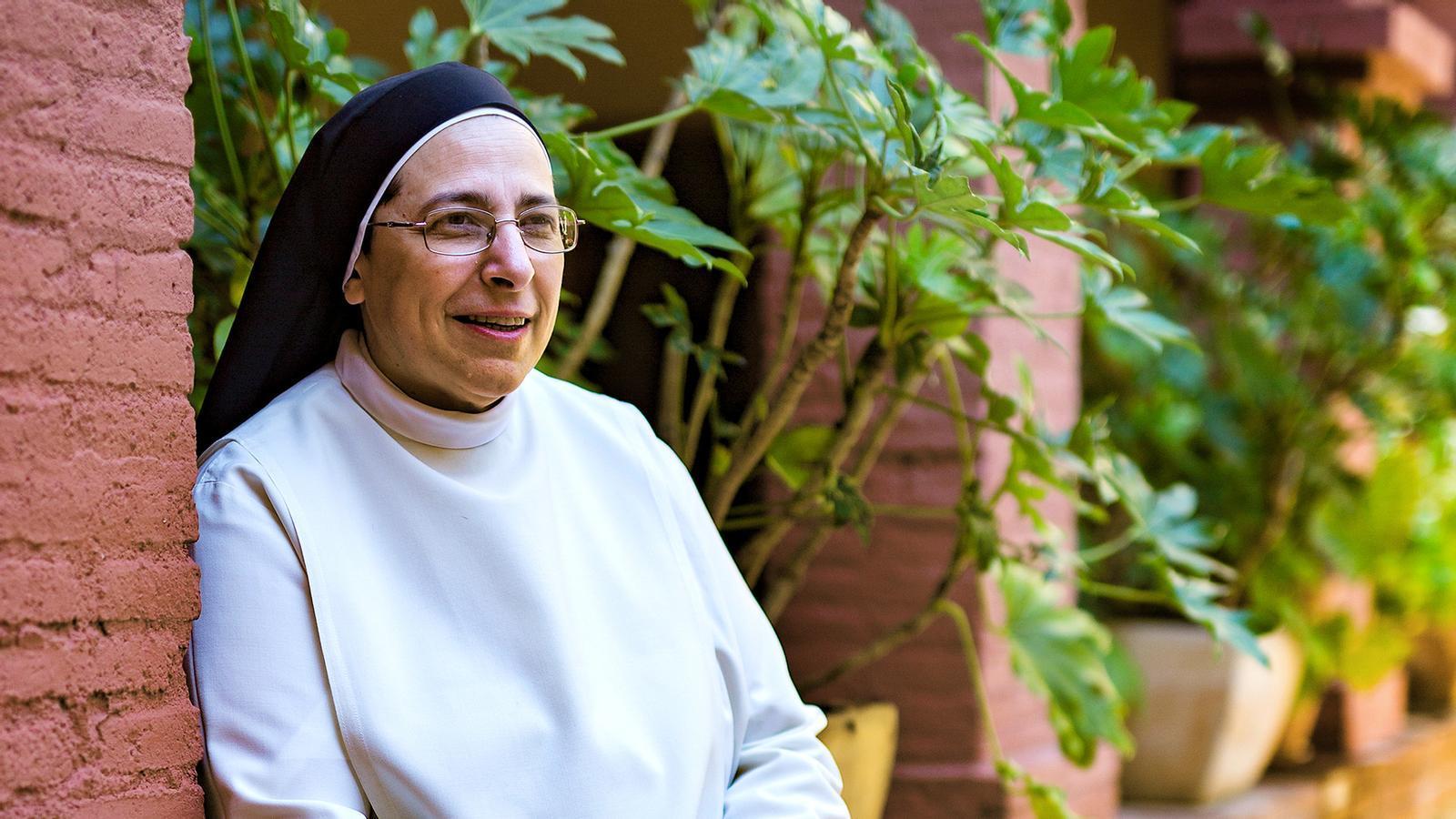 """Lucía Caram: """"Vaig dir al Papa que és difícil ser cristià a l'Església catòlica. «Me lo dices o me lo cuentas?», va respondre"""""""