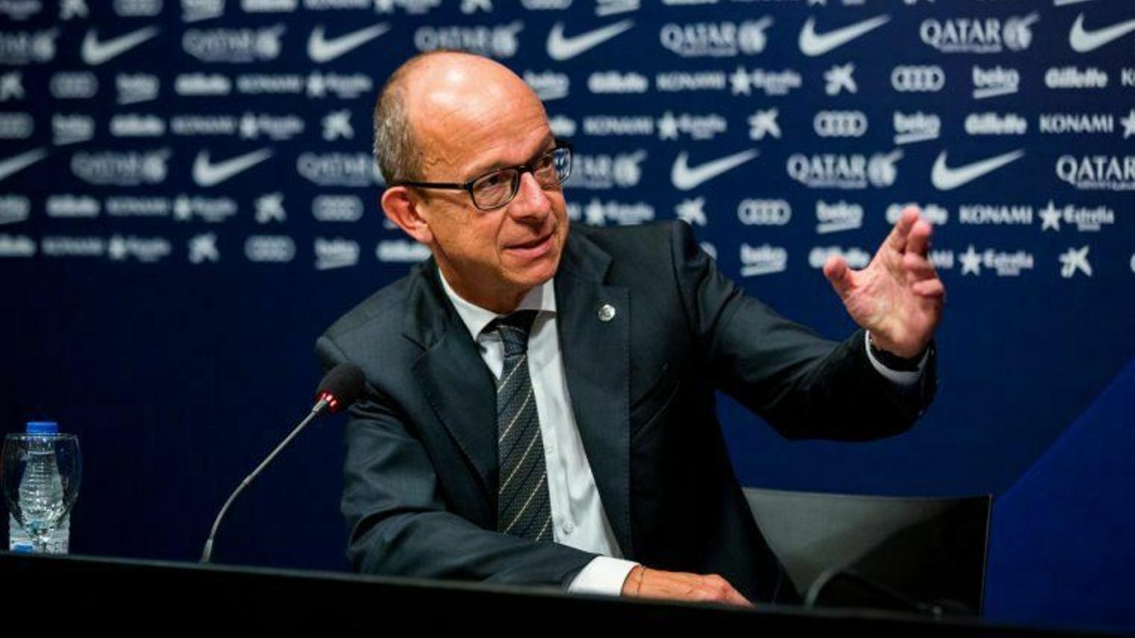 Jordi Cardoner, vicepresident primer del Barça i de la Fundació Barça