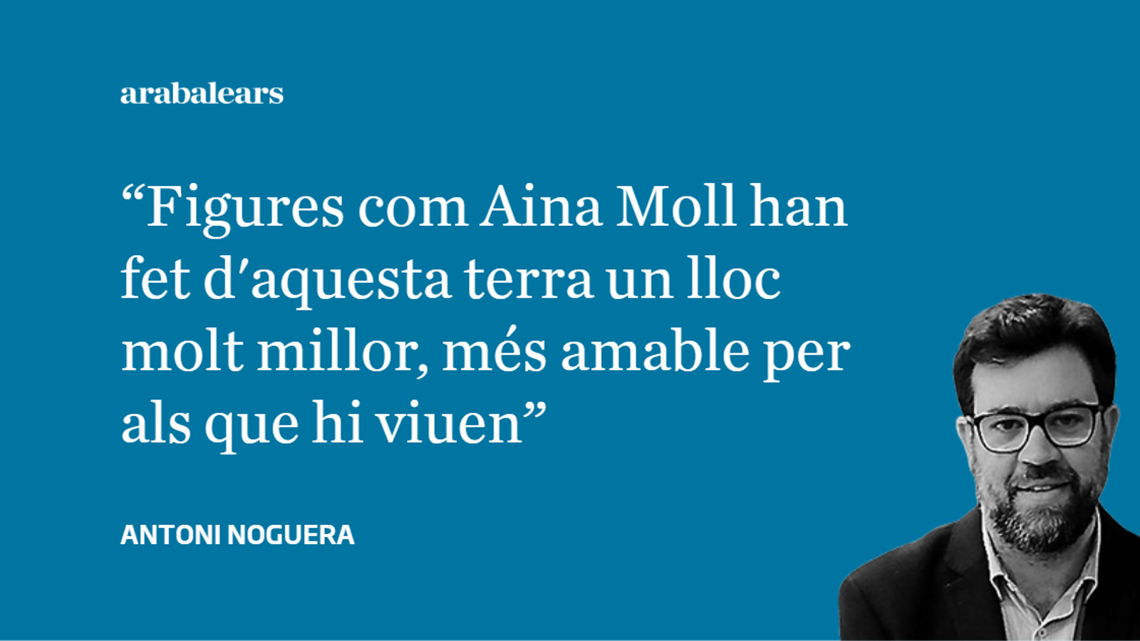 Aina Moll, referent