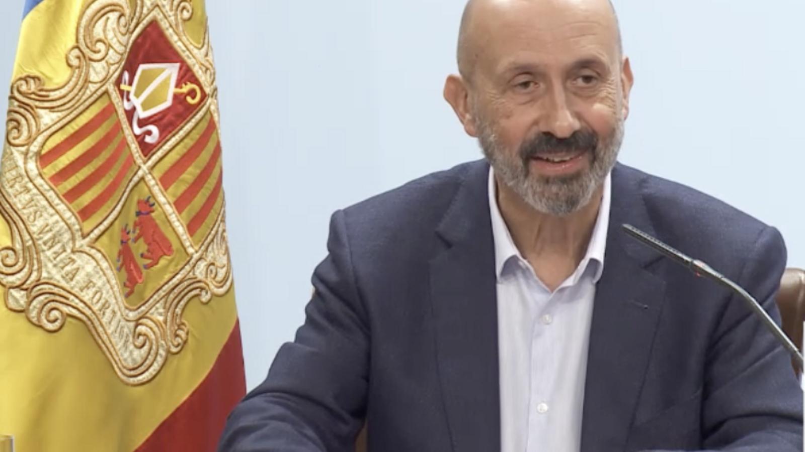 El ministre de Salut, Joan Martínez Benazet. / ANA