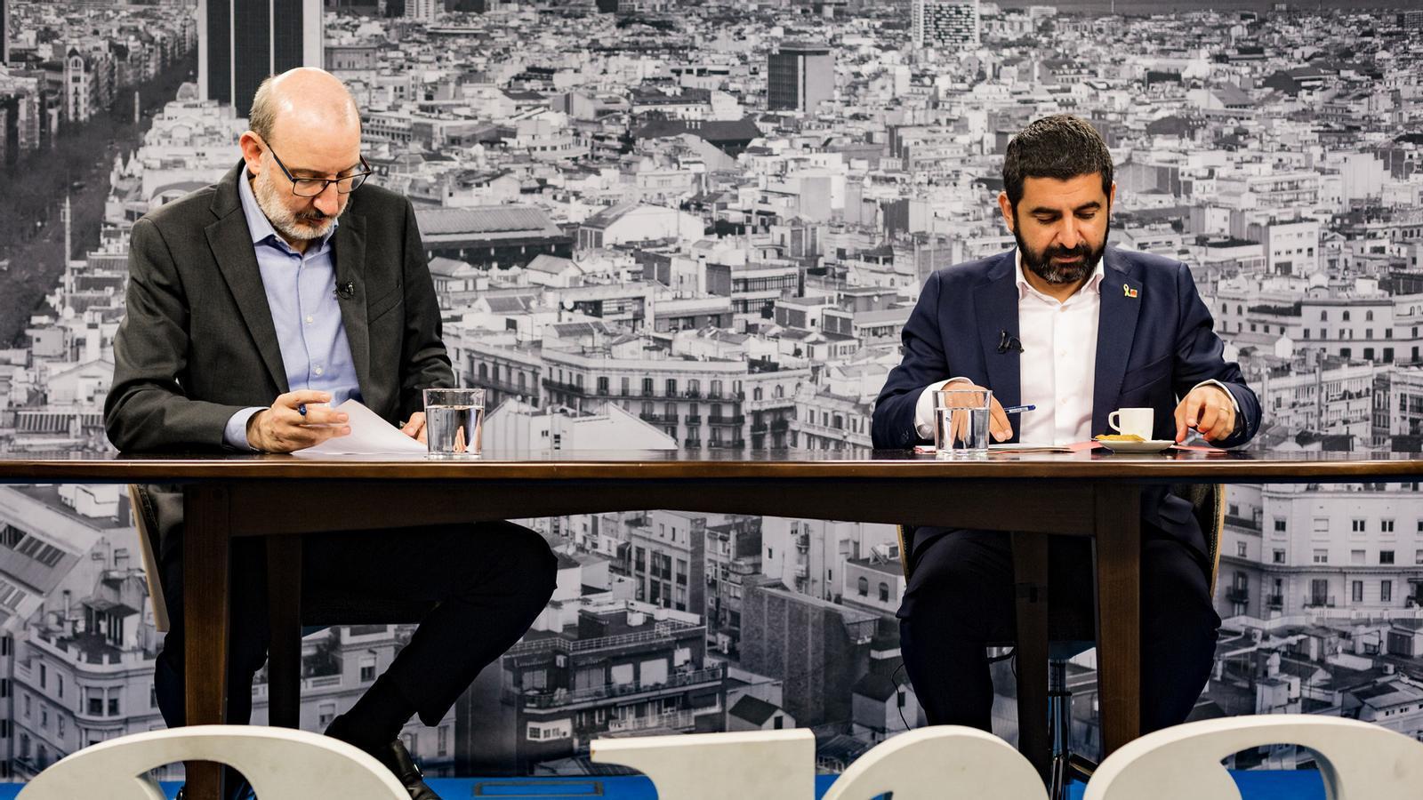 Entrevista d'Antoni Bassas a Chakir el Homrani