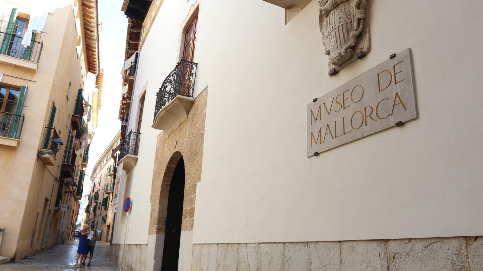 Imatge de la façana del Museu de Mallorca