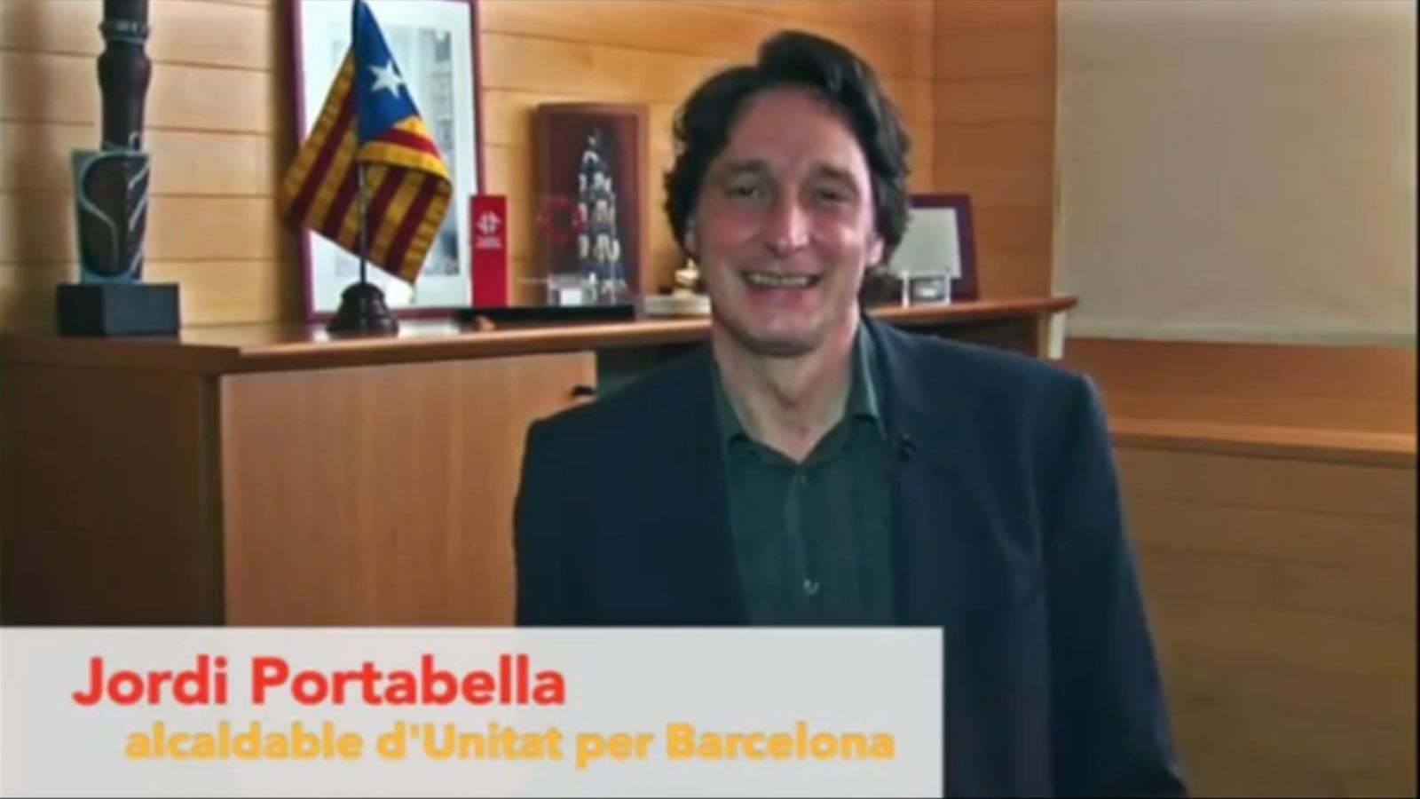 'Barcelona, capital d'Estat', vídeo electoral d'Unitat per Barcelona