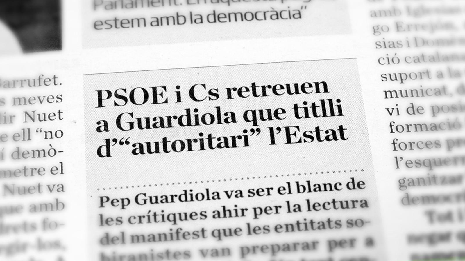 L'anàlisi d'Antoni Bassas: 'Menys fer-se els ofesos i més negociar'