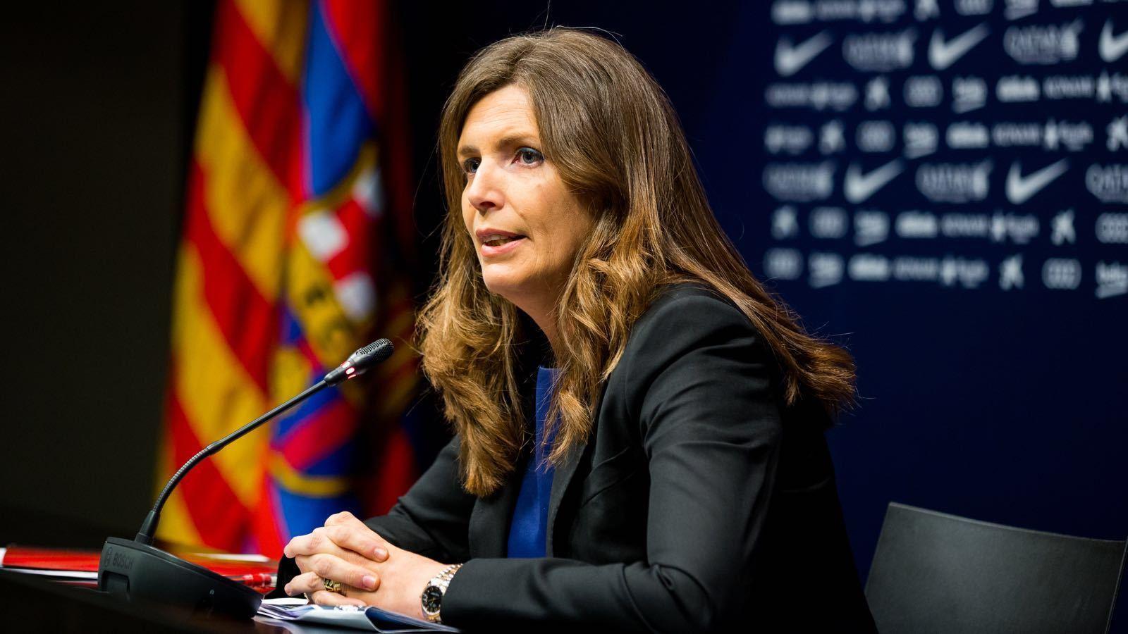 Susana Monje, vicepresidenta esportiva del Barça