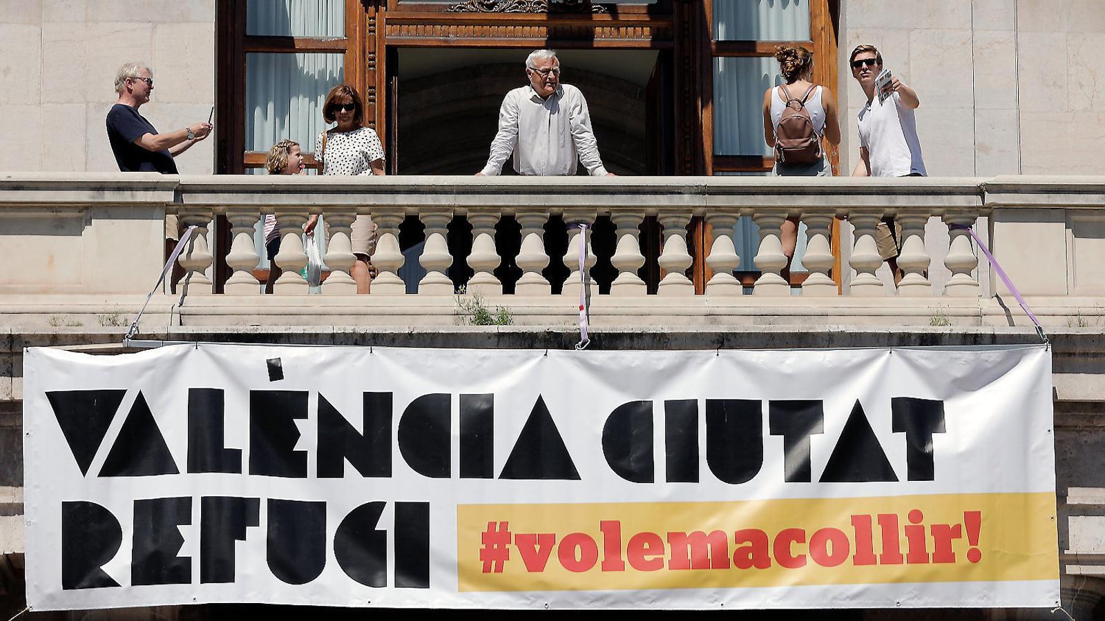 València ja té un espai per rebre els migrants