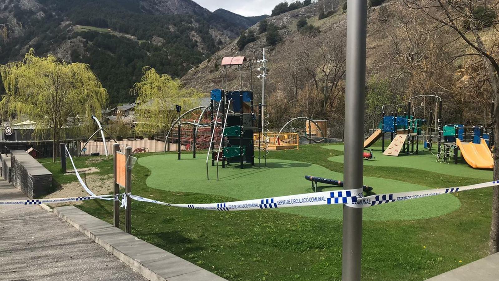 Parc infantil d'Ordino. / ARA