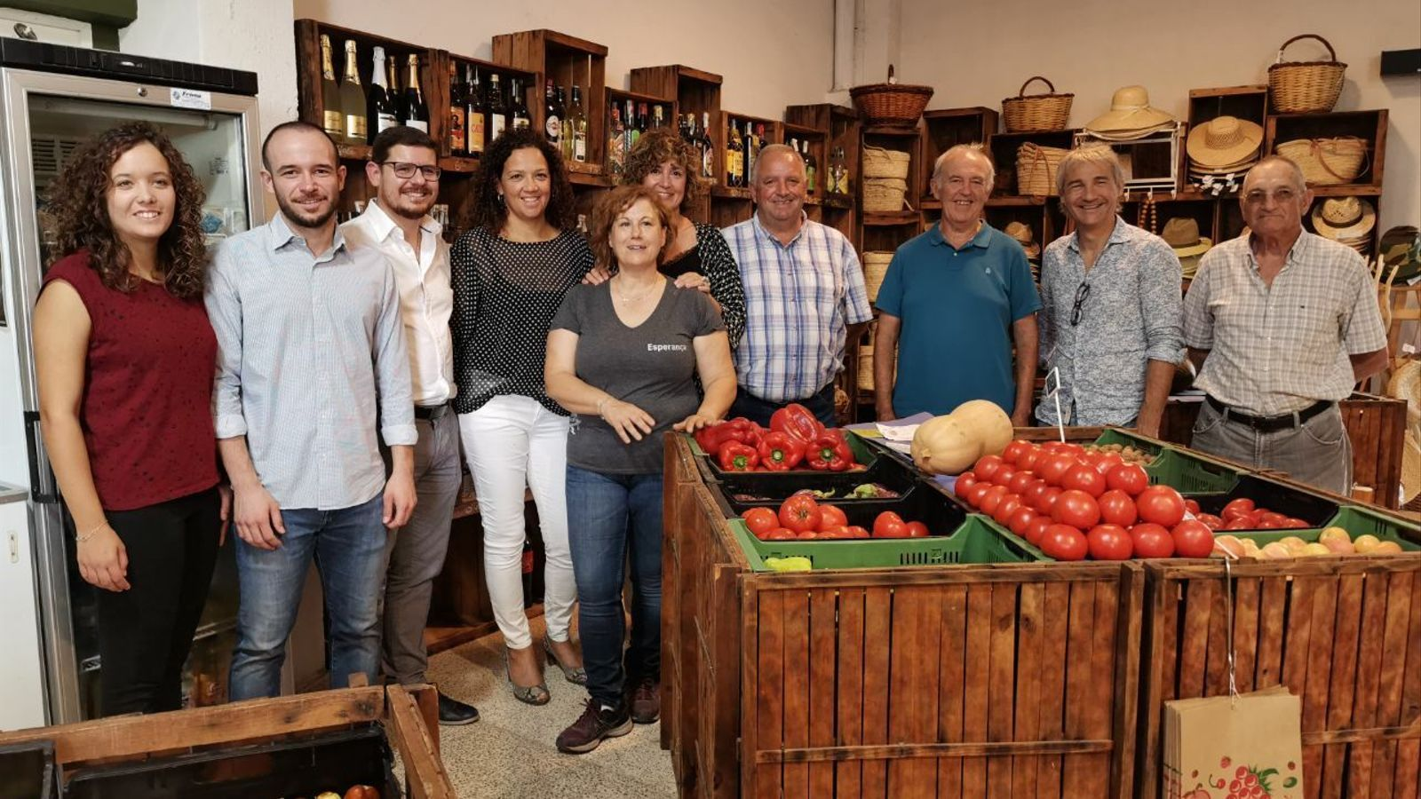 Visita institucional a la Cooperativa Agrícola de Porreres