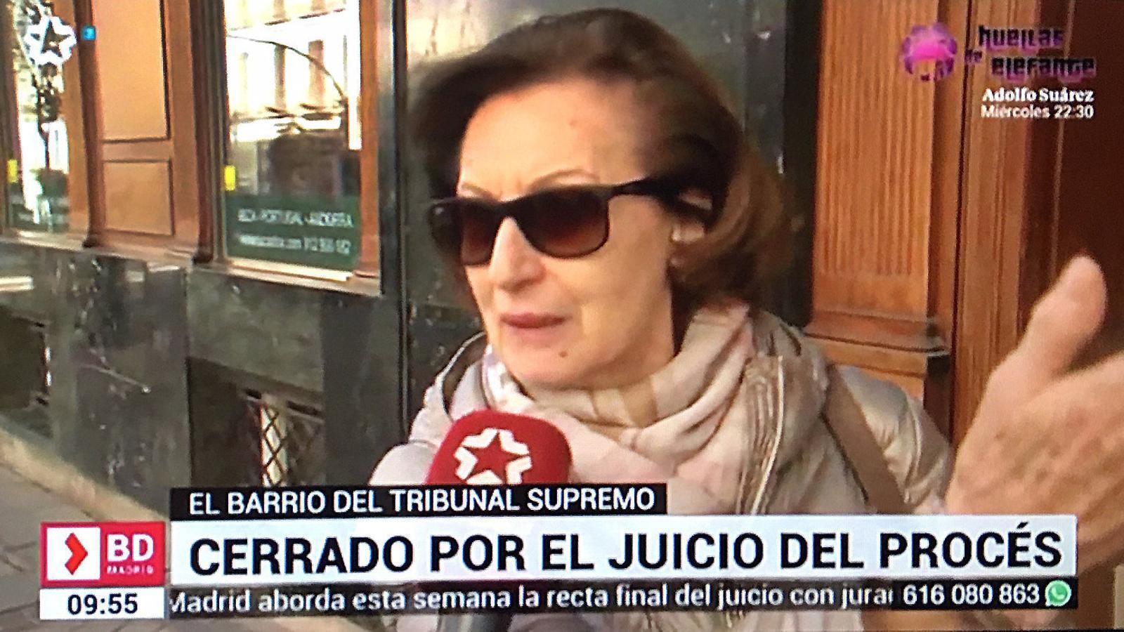 La mira telescòpica sobre   Oriol Junqueras