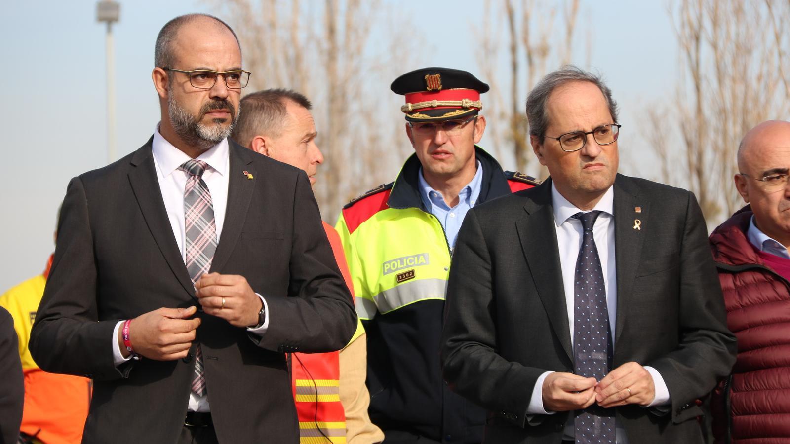 Els consellers cessats: tres trajectòries oposades dins del Govern