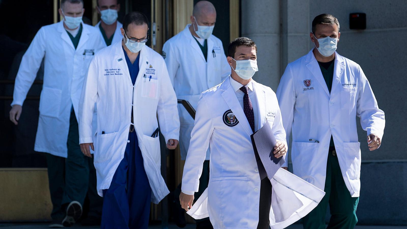 Confusió sobre l'estat de salut de Donald Trump