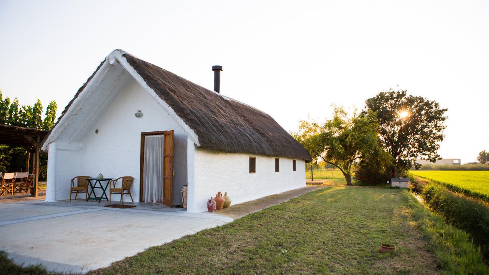 Un país per confinar-s'hi Barraca Vilbor El turisme rural autòcton del  delta de l'Ebre