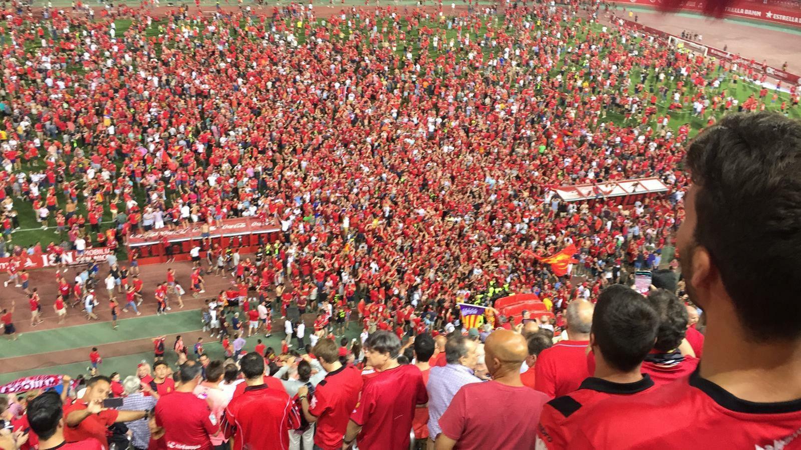 Sis anys després, el Mallorca torna a Primera