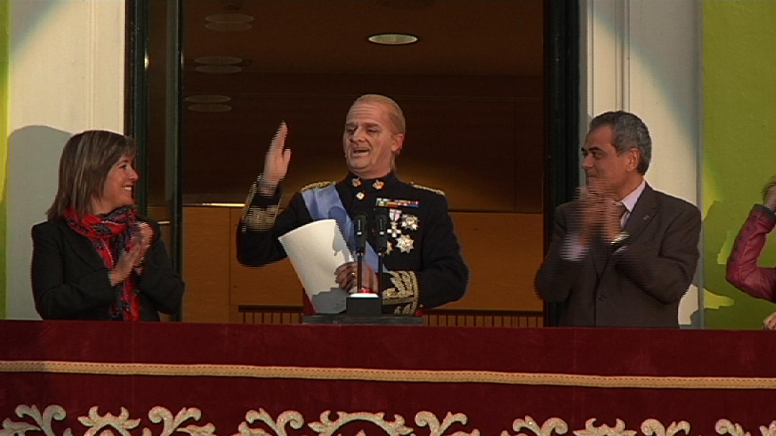 Rei Joan Carles I / Toni Albà: Es que el nene no para ni a tiros